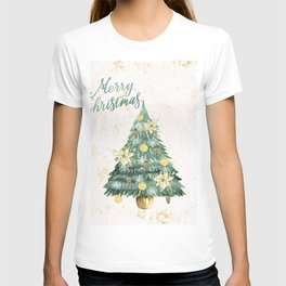 Christmas Tree Merry Christmas T-shirt