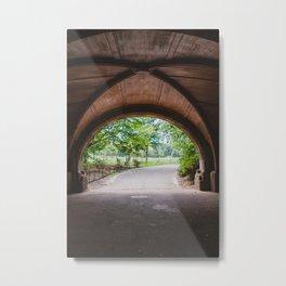 Meadowport Arch Prospect Park Metal Print