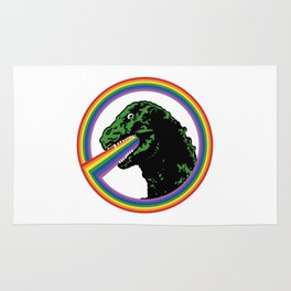 Rainbow Lizard Rug