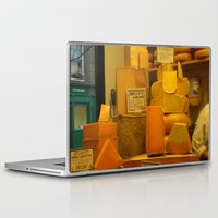 cheese Laptop & iPad Skins featuring Cheese! by AuFish92024