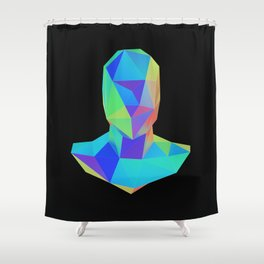 Bust Shower Curtain