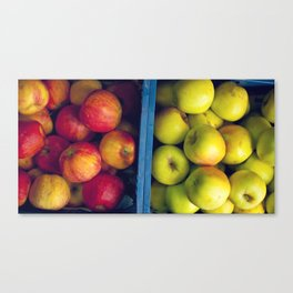 An apple a day. Canvas Print