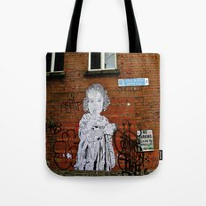 Copper A Ley Street Art, Dublin Tote Bag