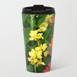 Red and Yellow Travel Mug