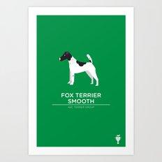 Fox Terrier Smooth Art Print
