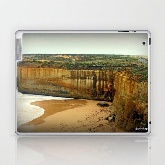 Gigantic limestone Cliffs Laptop & iPad Skin