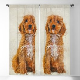 Cockapoo Blackout Curtain