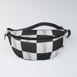 Checkerboard Pussy Fanny Pack