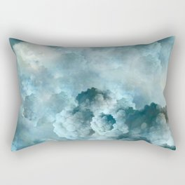 """Cotton clouds Sky"" Rectangular Pillow"