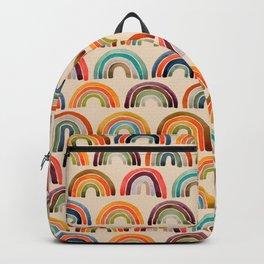 Rainbow Watercolor – Retro Palette Backpack