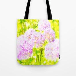 Allium Giganteum - Love Of Flowers Tote Bag