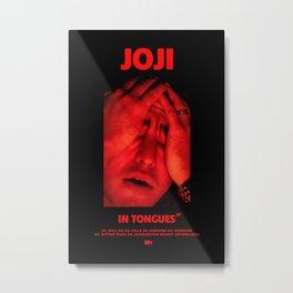Joji - In Tongues EP - Album Cover Poster Print Wall Art, Custom Poster Metal Print