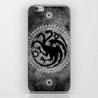 targaryen iPhone & iPod Skins featuring House Targaryen by Micheal Calcara