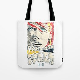 Leeloo Dallas portrait Tote Bag