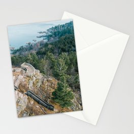 Sugarloaf from Above Stationery Cards