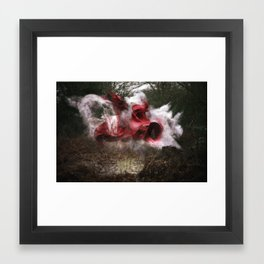 Deliver the Explosion Framed Art Print