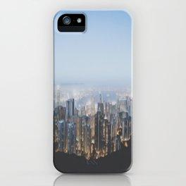 Hong Kong (Pixel Sorted) iPhone Case