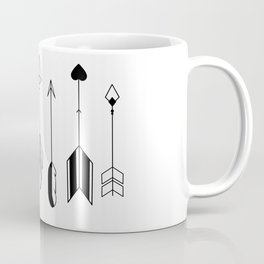 Be Brave Little Arrow Coffee Mug