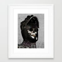 medieval Framed Art Prints featuring Medieval Knight by Ed Pires