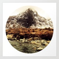 Isle of Skye Whisky in the Cuillins Art Print