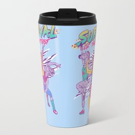 Survival of the Fittest Travel Mug