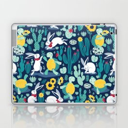 The tortoise and the hare Laptop & iPad Skin