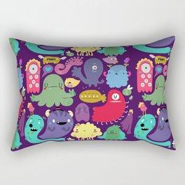 Colorful creatures Rectangular Pillow