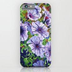 Purple Petunias  iPhone 6s Slim Case