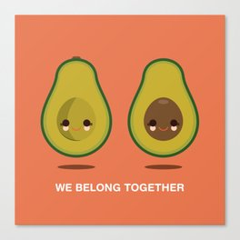 We Belong Together Canvas Print