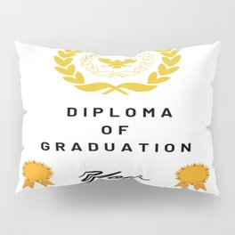 School of Life Graduation Diploma Pillow Sham