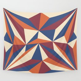 Pyramidal prism Wall Tapestry