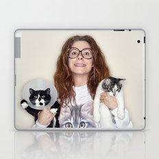 Crazy Cat Lady Photograph Laptop & iPad Skin