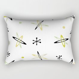 Atomic Era Space Age Rectangular Pillow