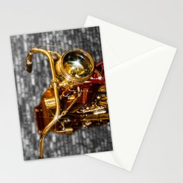 Old Motorcycle Stationery Cards