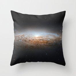 UFO Galaxy (NGC 2683) Throw Pillow