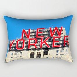 Native New Yorker Rectangular Pillow