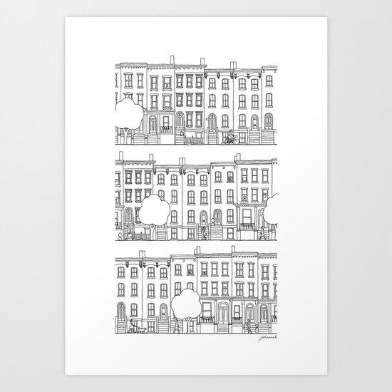 blocks of Brooklyn by johannakindvall