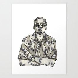 Marked Down Art Print
