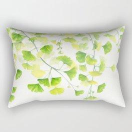 Ginkgo Watercolor  Rectangular Pillow