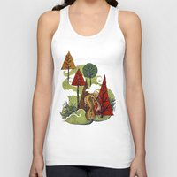 creativity Tank Tops featuring Creativity by artchica
