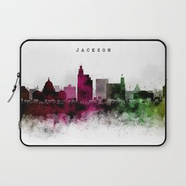 Jackson Watercolor Skyline Laptop Sleeve