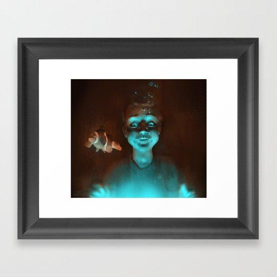 Treasure hunters Framed Art Print