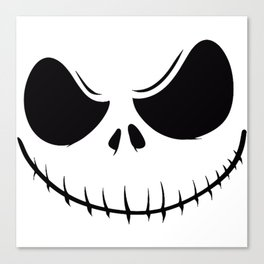 SKELLINGTON Canvas Print