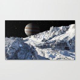 Exploring Europa Canvas Print