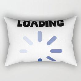 Fart Loading Rectangular Pillow