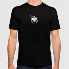 Underwear Bot Mens Fitted Tee Black SMALL