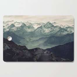 Mountain Fog Cutting Board
