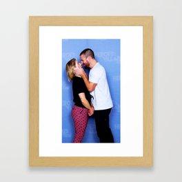 Stephen Amell and Emily Bett Rickards Picture Framed Art Print