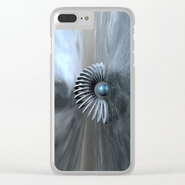 Surreal Frozen Sea Clear iPhone Case