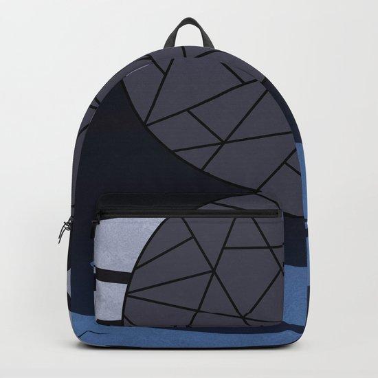 DARK MOON (abstract geometric) Backpack